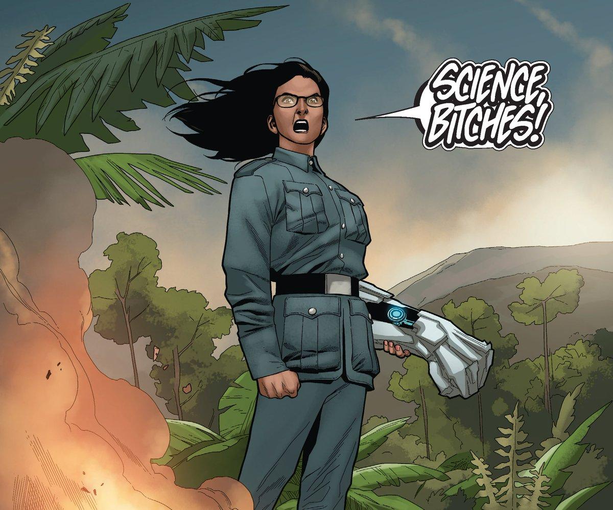 Valiant Comics's photo on #WomenInScienceDay