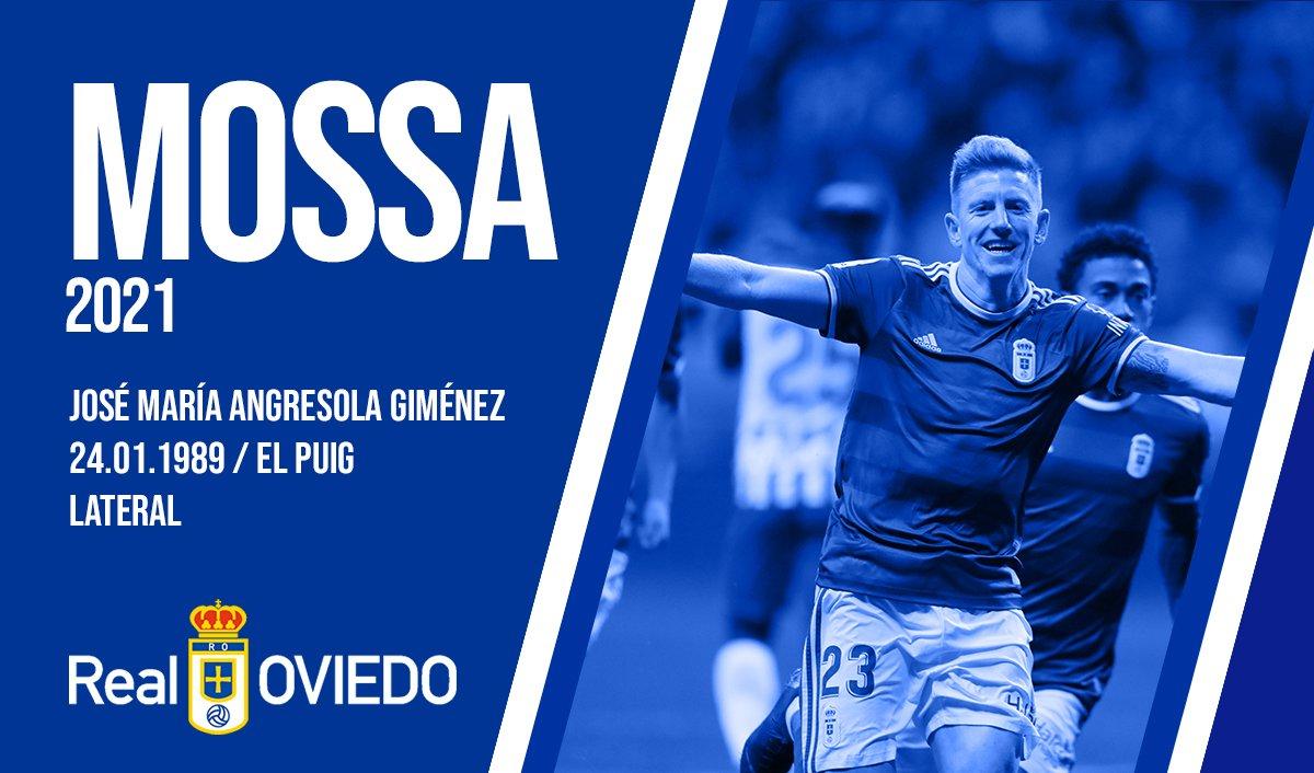 Mossa renueva con el Real Oviedo.