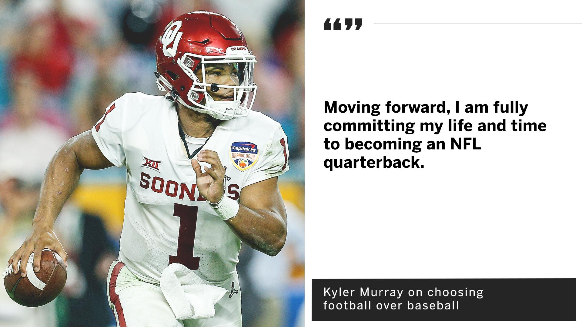 Kyler Murray has apparently made his choice. https://t.co/7DXhHxX5lG