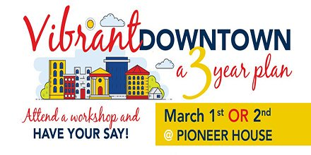 What's your three-year vision for #FortSask Downtown? Have your say, share your ideas and share your interests at our public engagement workshops. Register Today! http://vibrantdowntown.eventbrite.ca   or 780-992-6232