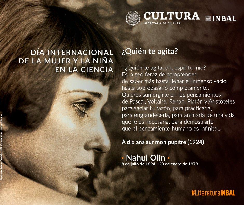 Literatura INBAL's photo on Mujer y la Niña