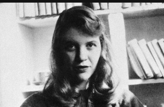 𝕖𝕞𝕚𝕝𝕪🌻's photo on Sylvia Plath
