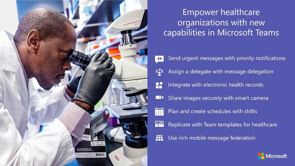 Microsoft Teams's photo on #HIMSS19
