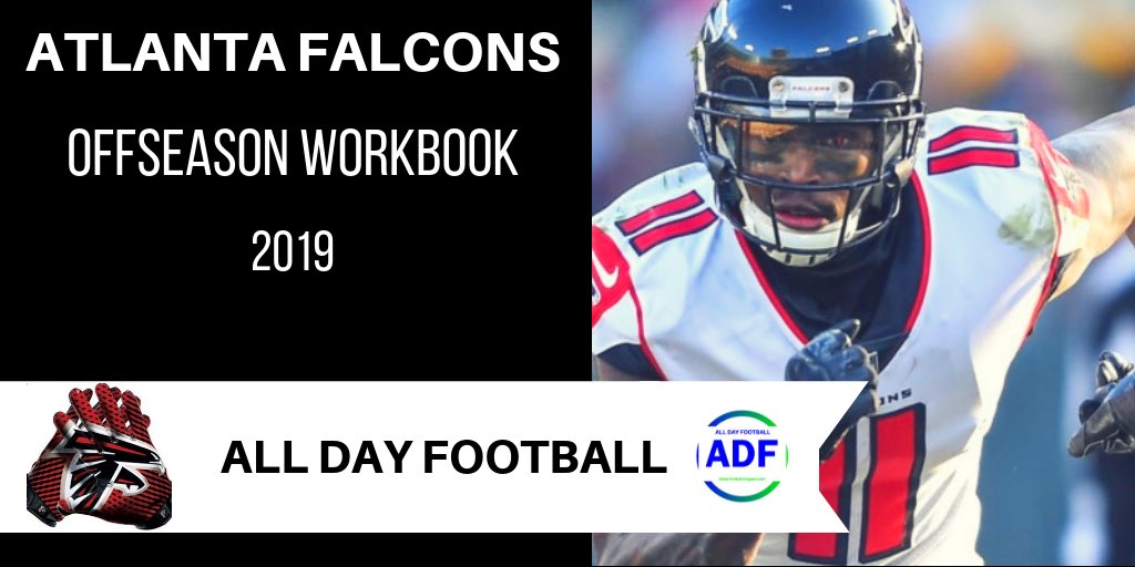 0acd86345ae Atlanta Falcons Offseason WorkBook 2019 http://allday-football.blogspot.com  #NFL #FantasyFootball #Falcons #AtlantaFalcons #InBrotherhood #Atlanta  #Georgia ...