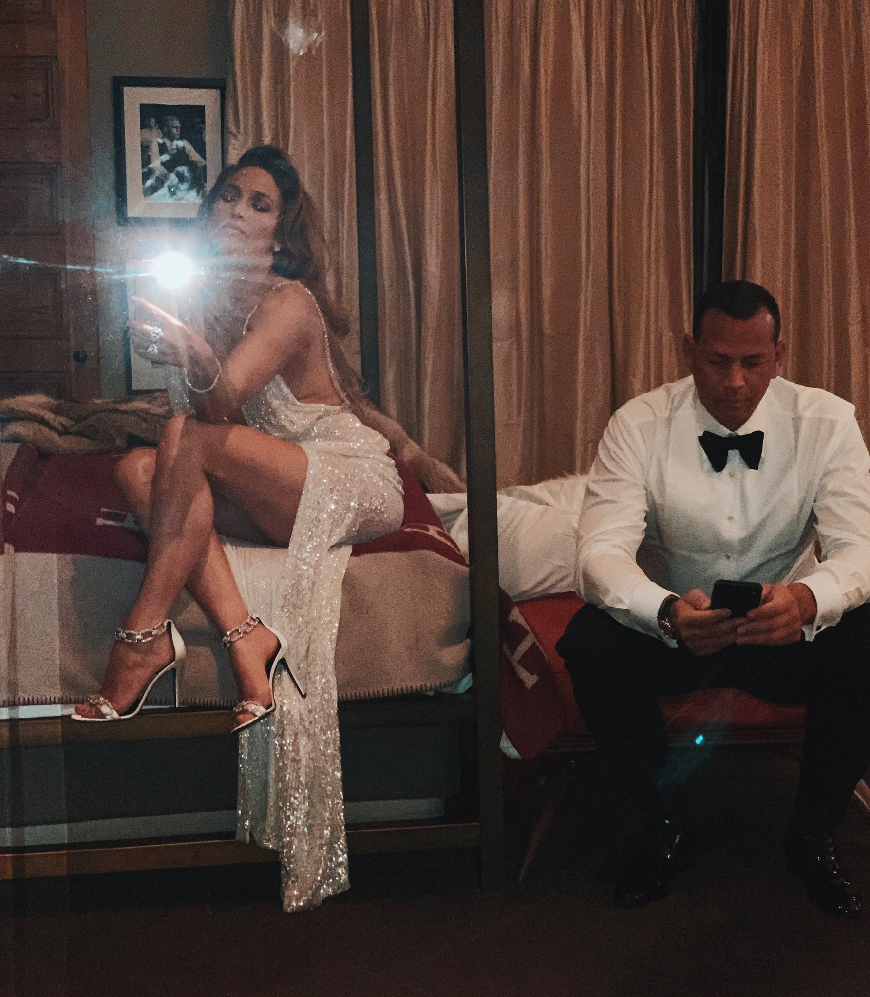 At the end of the night, it's just us. �� #Grammys2019 @AROD https://t.co/Zjwjq96aDx