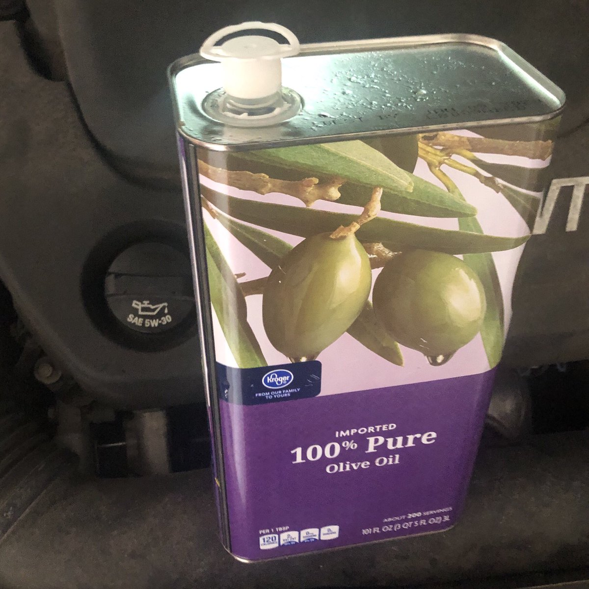 "Dads Falling For The ""Olive Oil In Your Car"" Prank Is My New Favorite Thing"