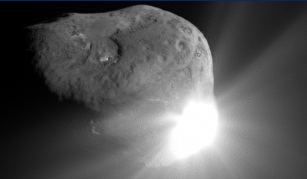 earth scientist suggests comet - 1024×576