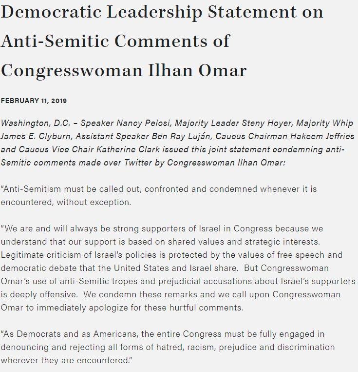 AIPAC's photo on Congresswoman Omar