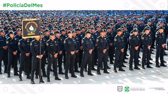 #policíadelmes Foto