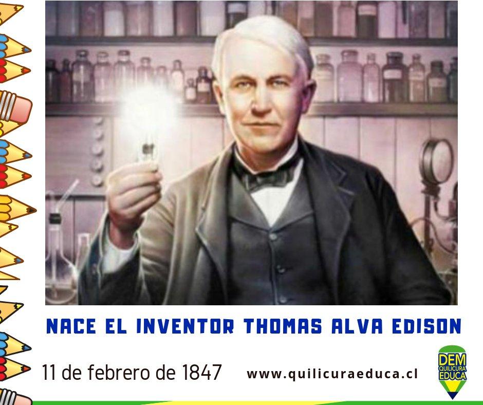 Quilicura Educa's photo on thomas alva edison