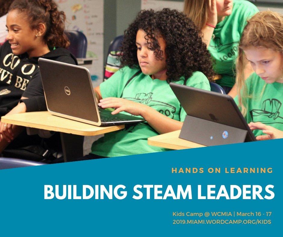 WordCamp Miami's photo on #GirlsInSTEM