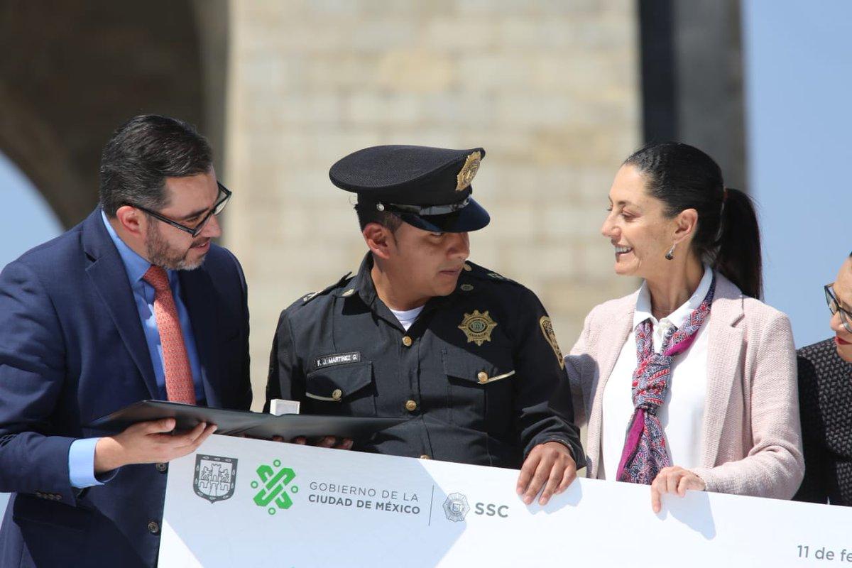 Gobierno CDMX's photo on #PolicíaDelMes