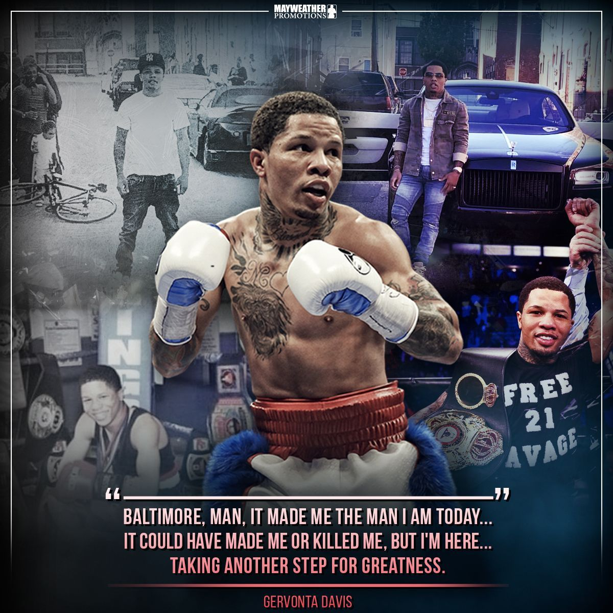 test Twitter Media - When the deck is stacked against you, reshuffle the deck. Nothing is more motivating than a person defying the odds. The streets raised him, but boxing saved him. How's that for motivation! #MotivationMonday  @gervontaa https://t.co/vn6BkcXhed