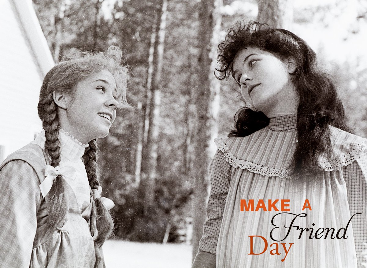 Anne of Green Gables's photo on #NationalMakeAFriendDay