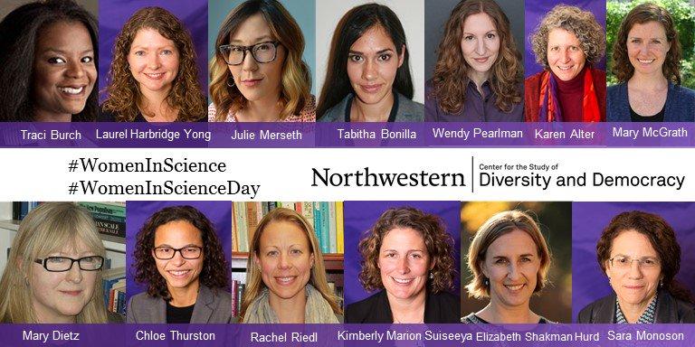 CSDD at Northwestern's photo on #WomenInScienceDay