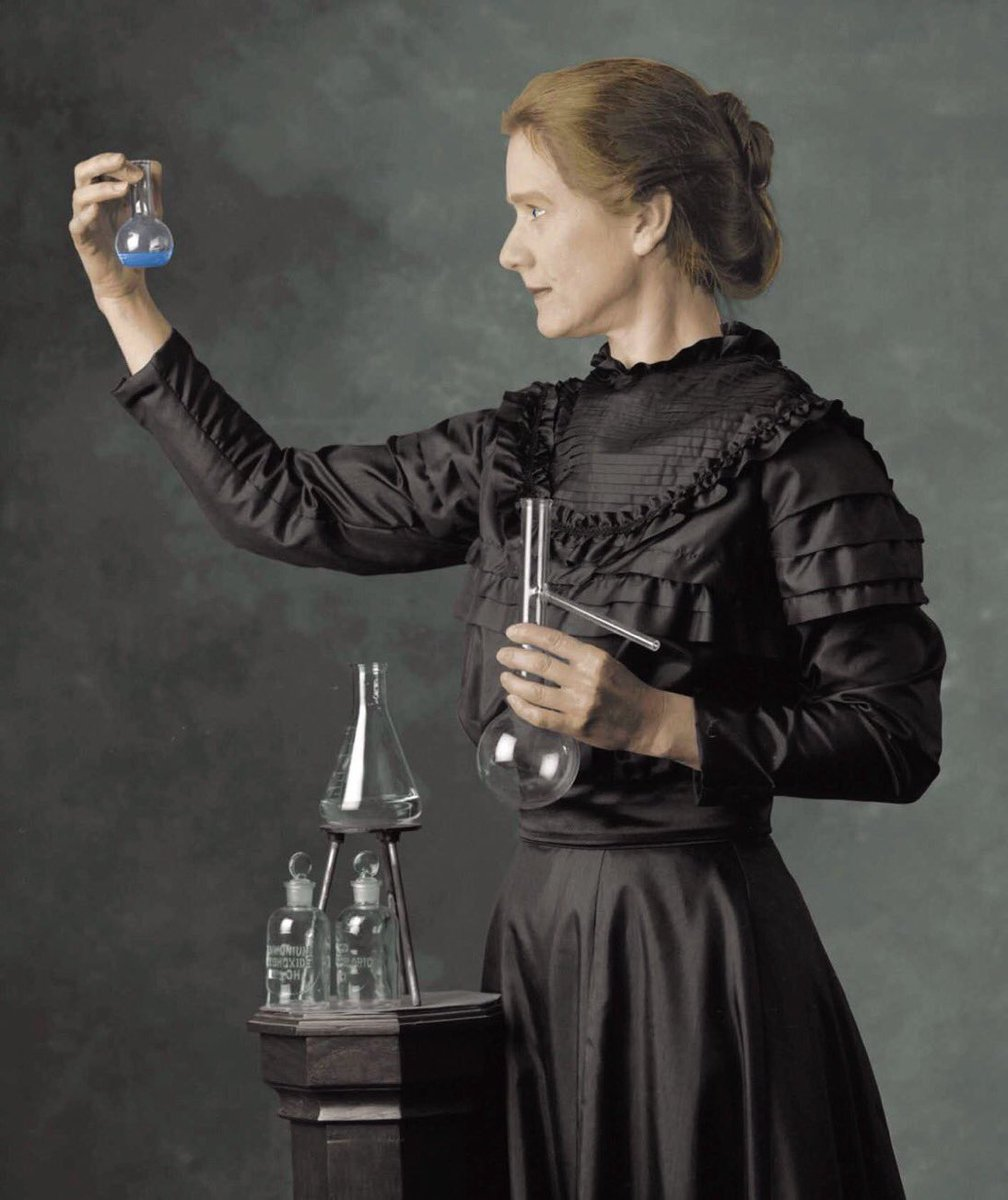 Vala Afshar's photo on marie curie
