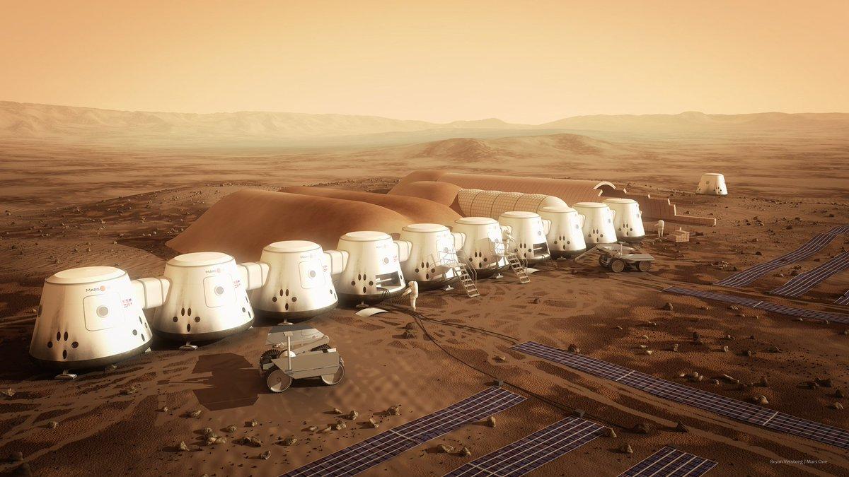 Dezeen's photo on Mars One