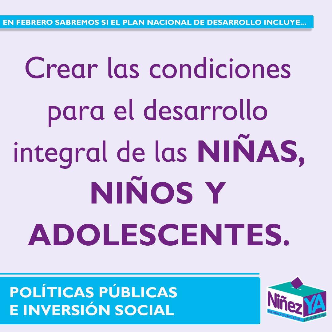 NiñezYA – Sociedad Civil por los NNA's photo on #Niñas