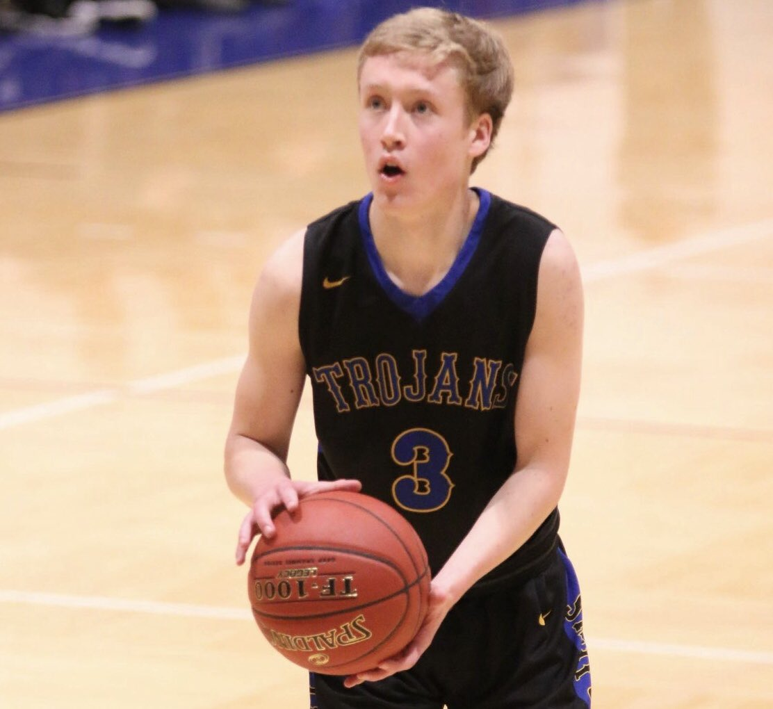 Get To Know Will Parry -Class: Freshman  -Position: Guard  -Hometown: Arlington, SD  -Major: Biology  -Favorite thing about DSU: The people  -Fun Fact: He likes to play Fortnite  -Goal for the Season: Win the Conference  #TrojanNation