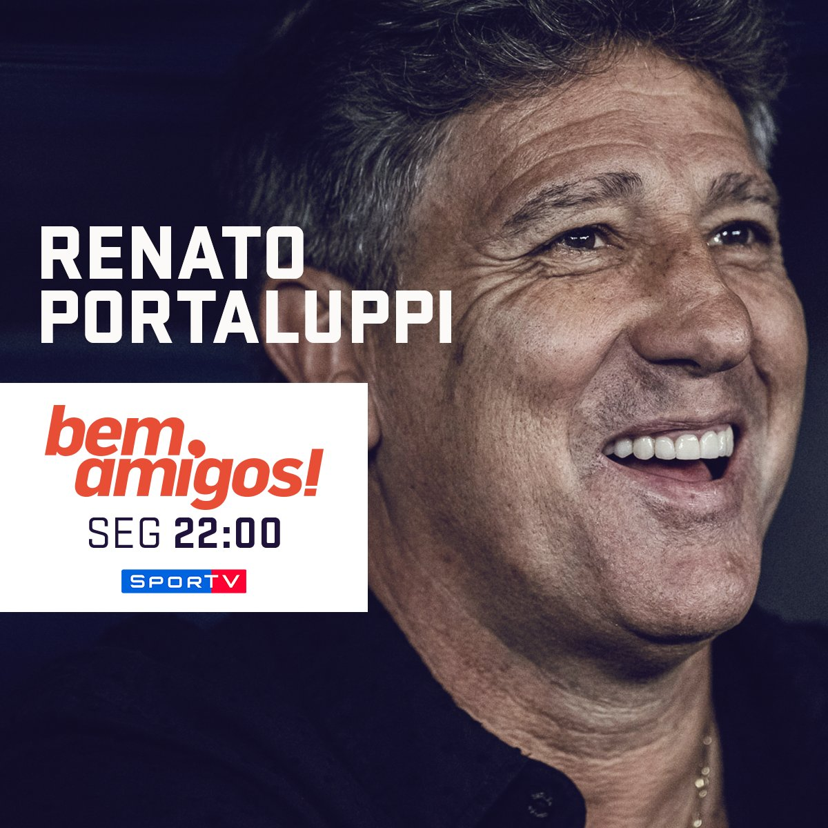 SporTV's photo on Renato Portaluppi