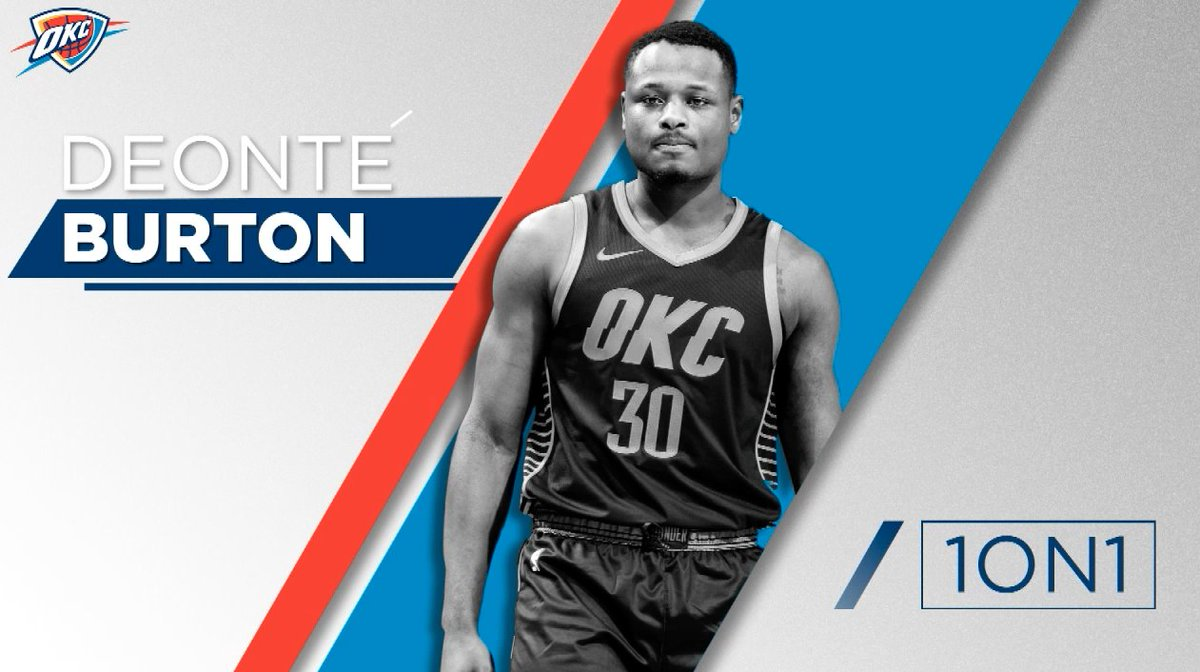 OKC THUNDER's photo on Deonte Burton
