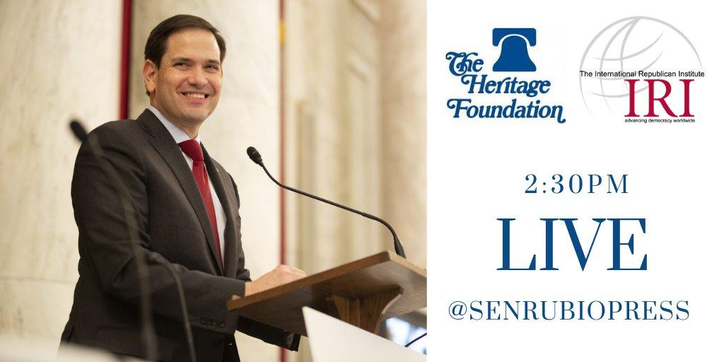 Senator Rubio Press's photo on #RubioAtHeritage