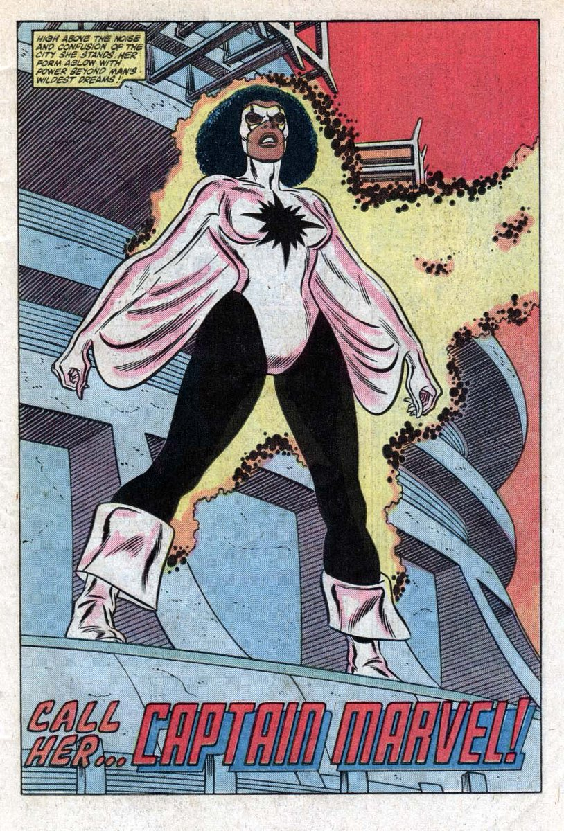 FANTASTIC VIDEO, EVS! Monica Rambeau is my Captain Marvel!!!  Larson? Danvers? NOT MY CAPTAIN MARVEL!