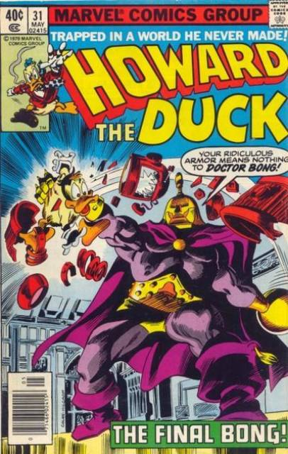 Caped-Joel Daly's photo on Howard the Duck