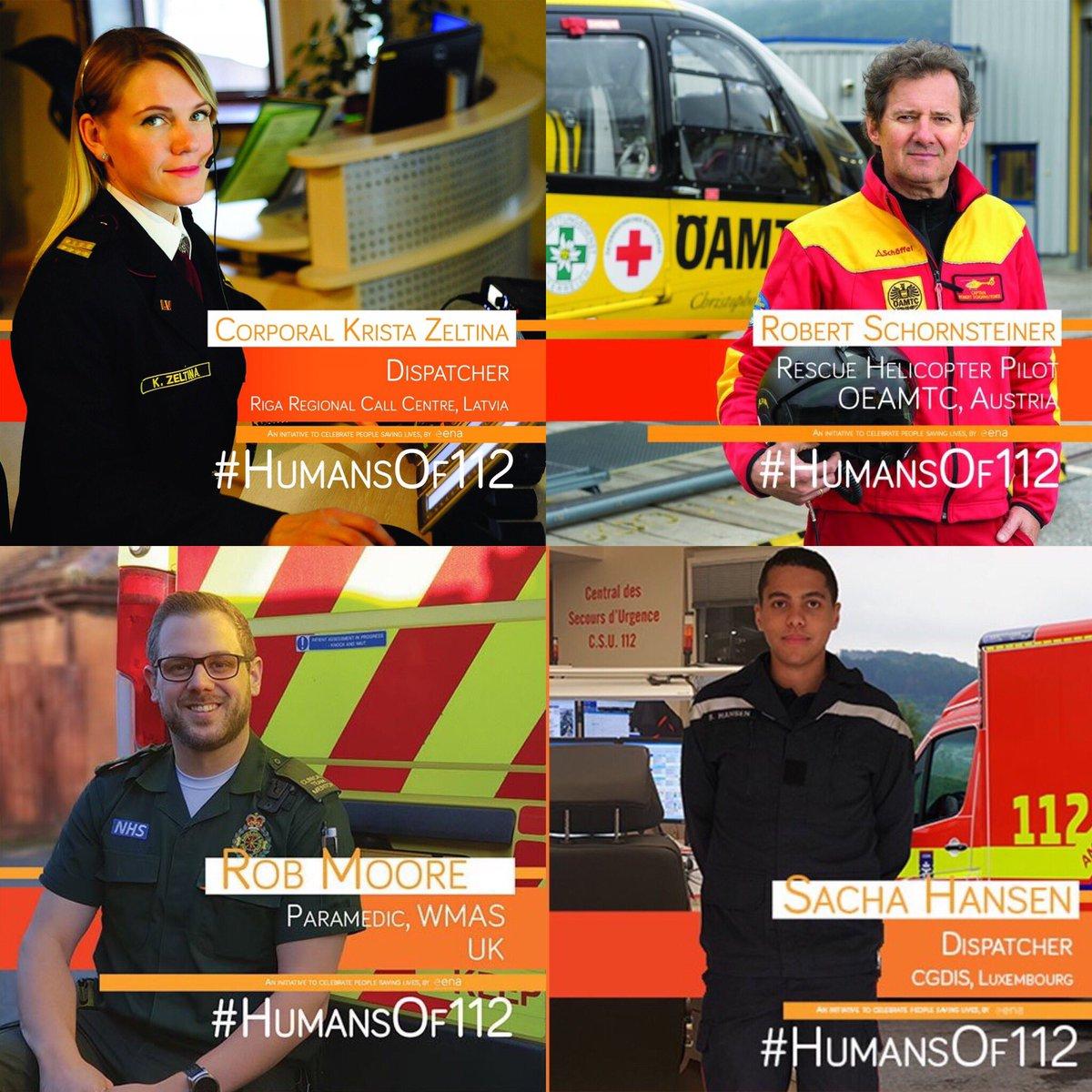 West Midlands Ambulance Service's photo on #112Day2019