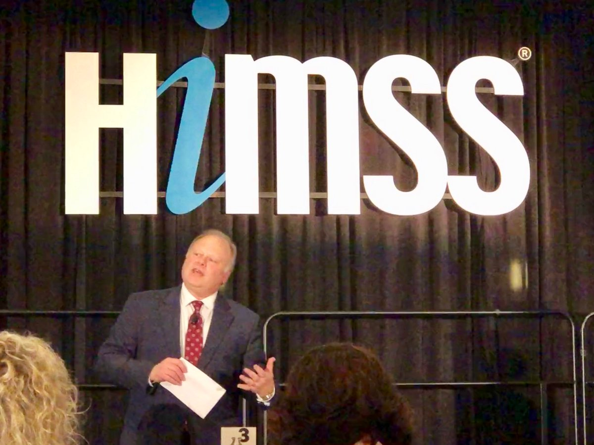 Ross D. Martin's photo on #HIMSS19
