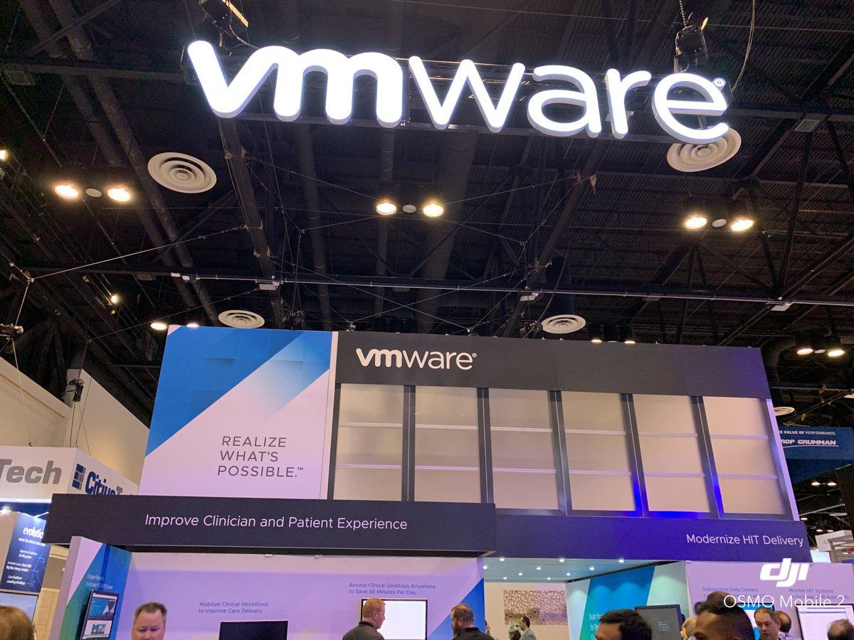 VMware Healthcare's photo on #HIMSS19