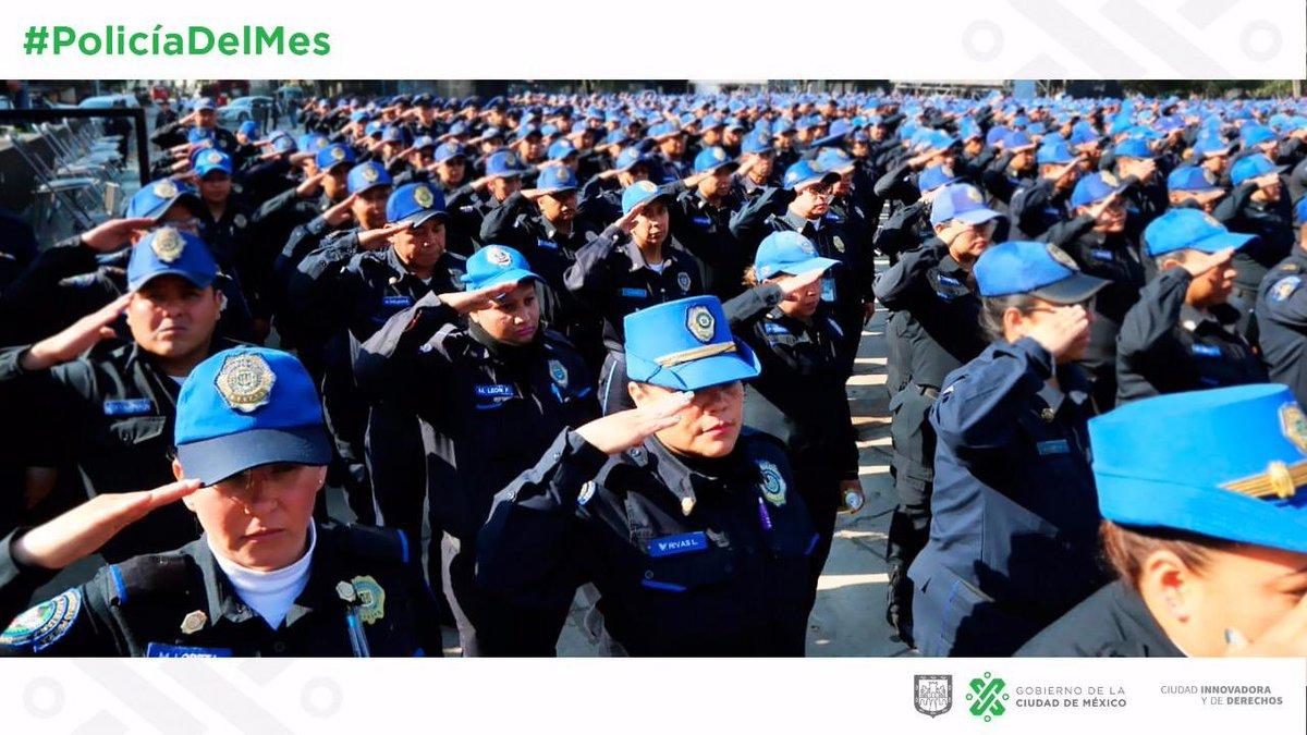 SEGOB CDMX's photo on #PolicíaDelMes