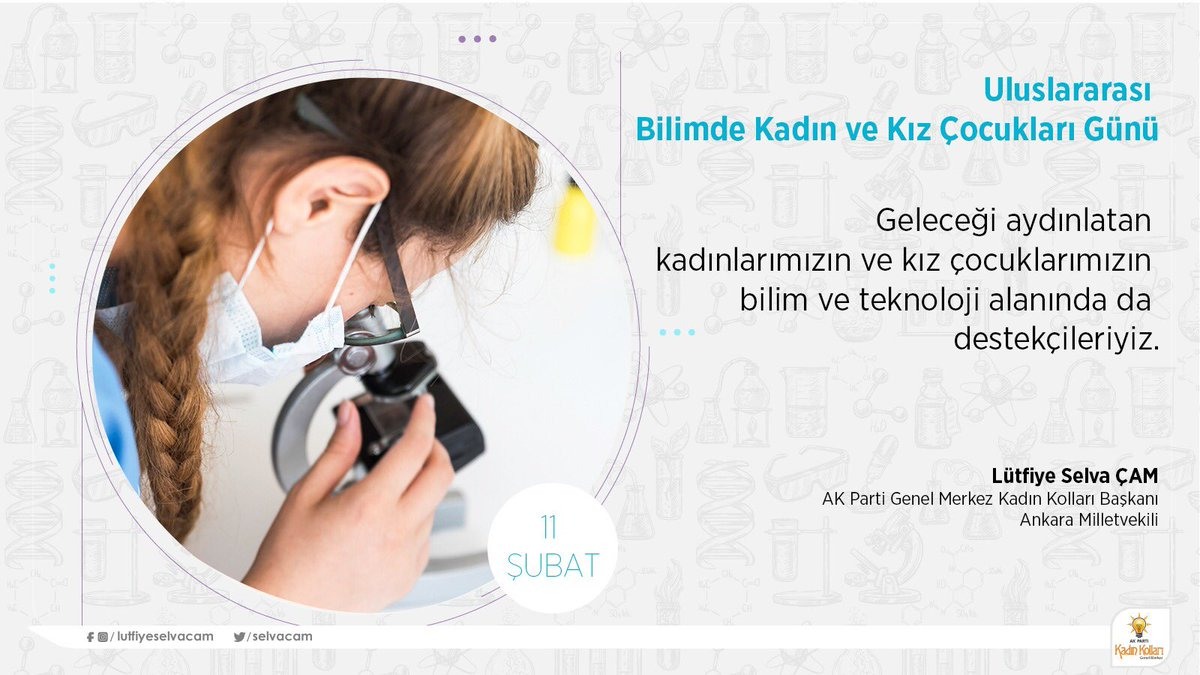 Lütfiye Selva Çam 🇹🇷's photo on #WomenScienceDay
