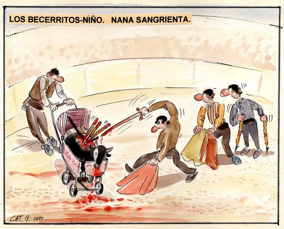 TauromaquiaViolencia's photo on #BastaBecerradas