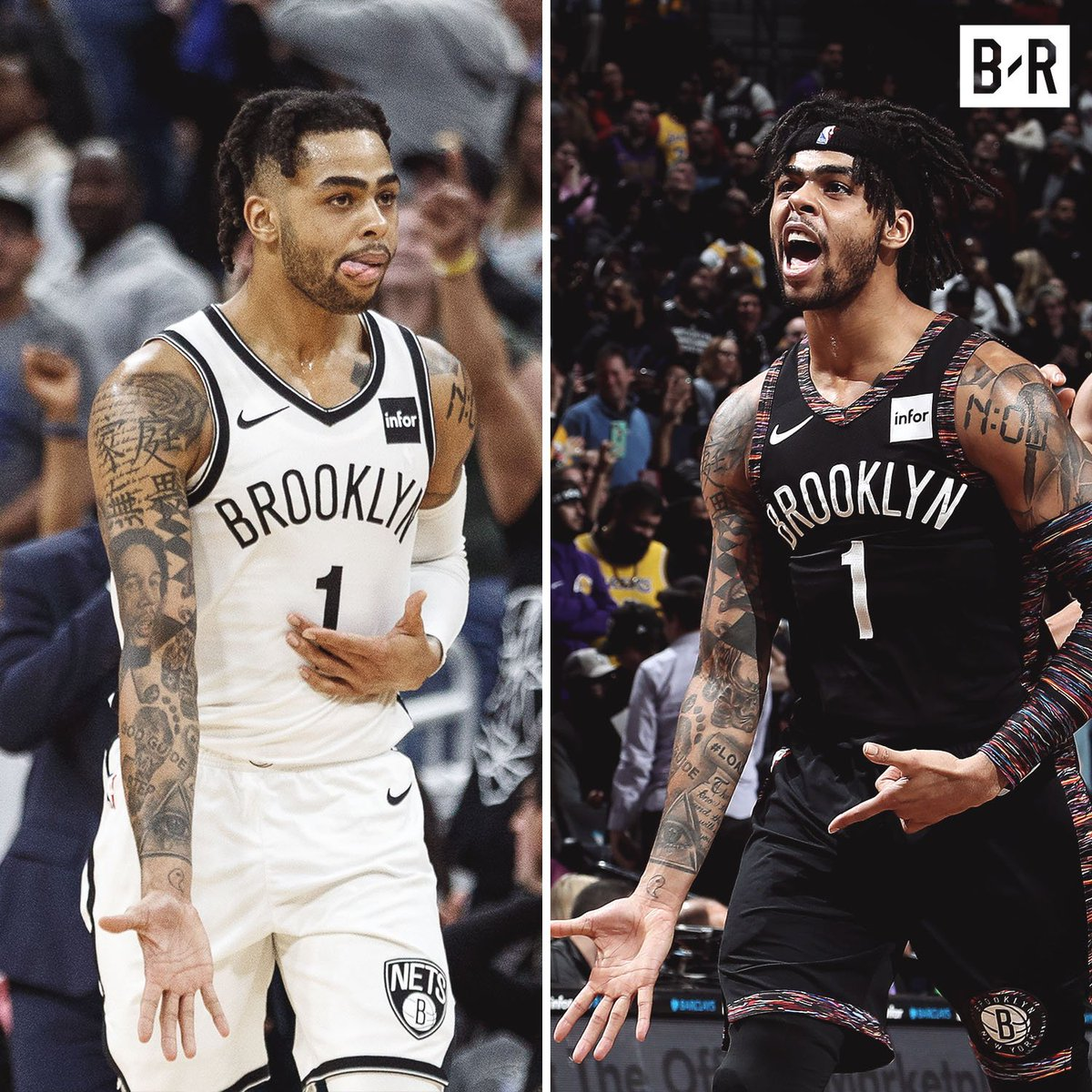 D-Lo (22 years old) is the youngest player in NBA history to hit 500 three-pointers ❄️  (h/t @APOOCH)