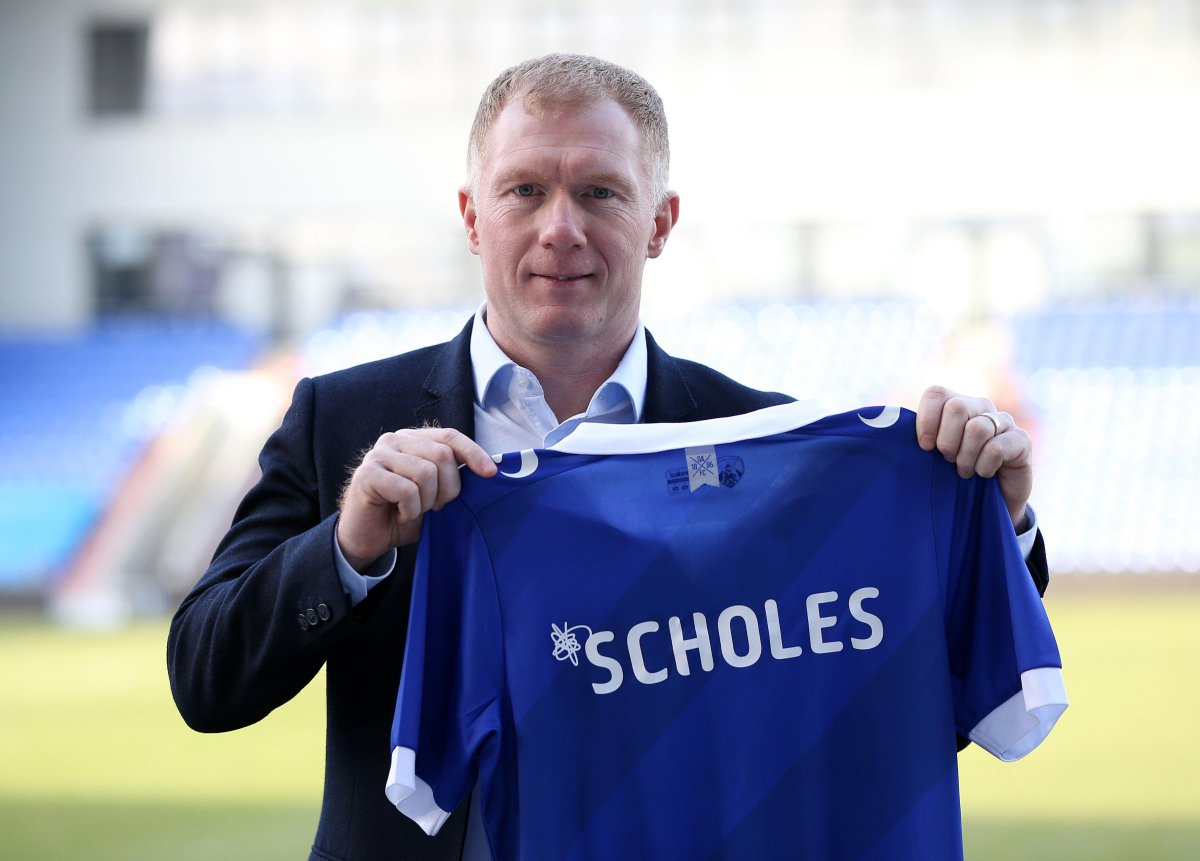 The Oldham Times's photo on Paul Scholes