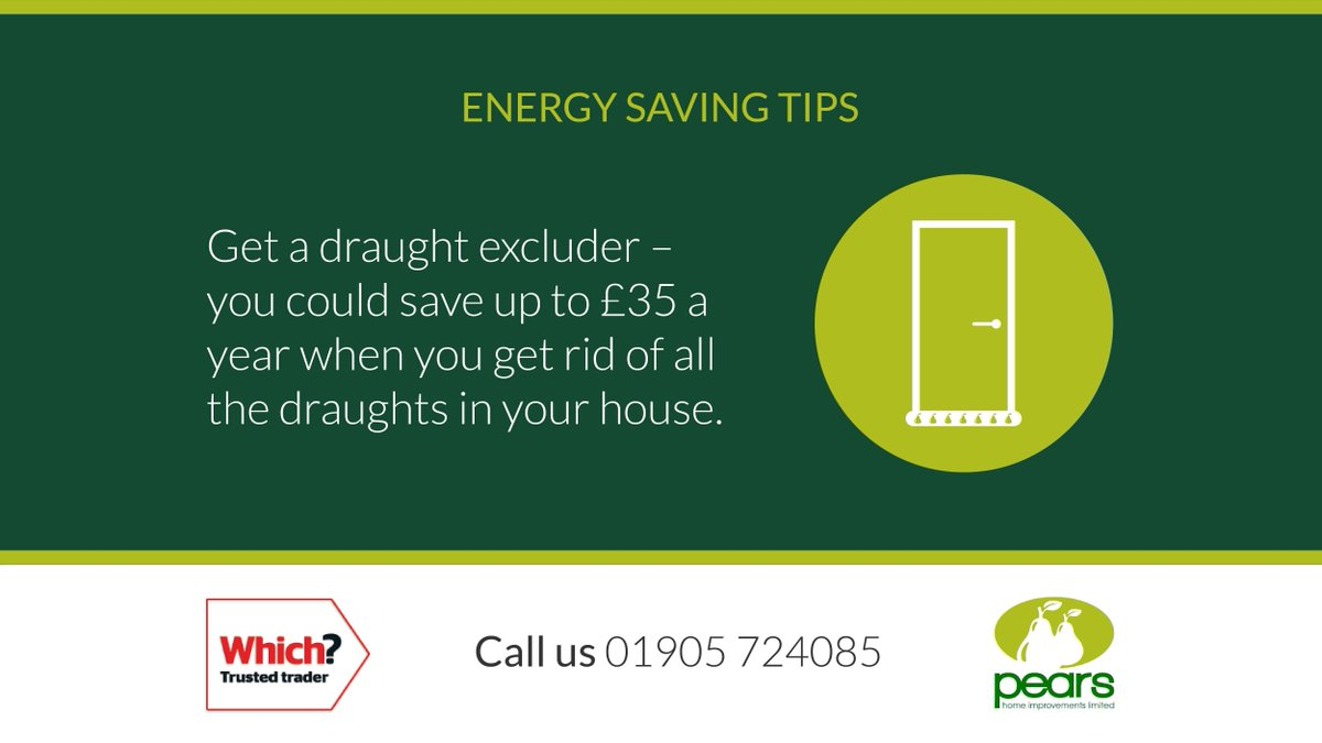 Here is this week's 'Energy Saving Tip' which we hope you'll find useful.  If you need any help with making your home more energy efficient please give us a call.  #WorcestershireHour #worcestershire #energysaving #Tip