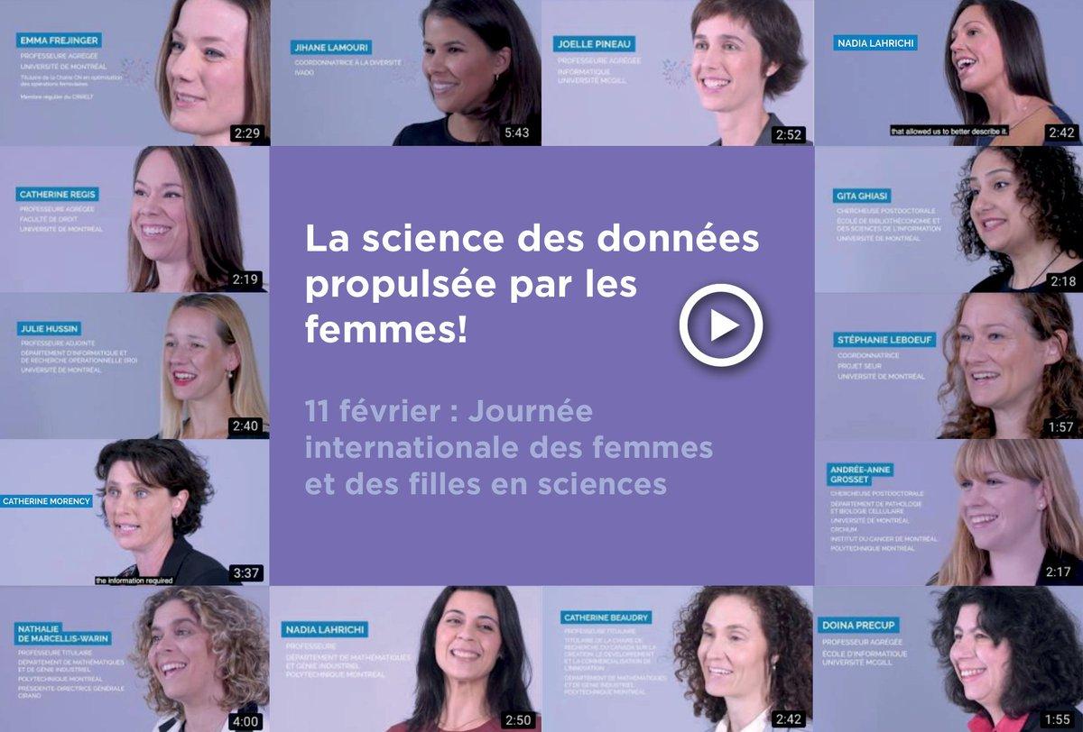 IVADO's photo on #FemmesEnScience