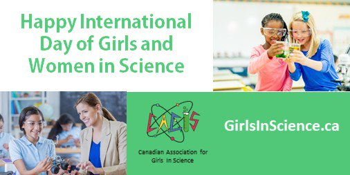 Canadian Assoc for Girls in Science (CAGIS)'s photo on #GirlsinScience