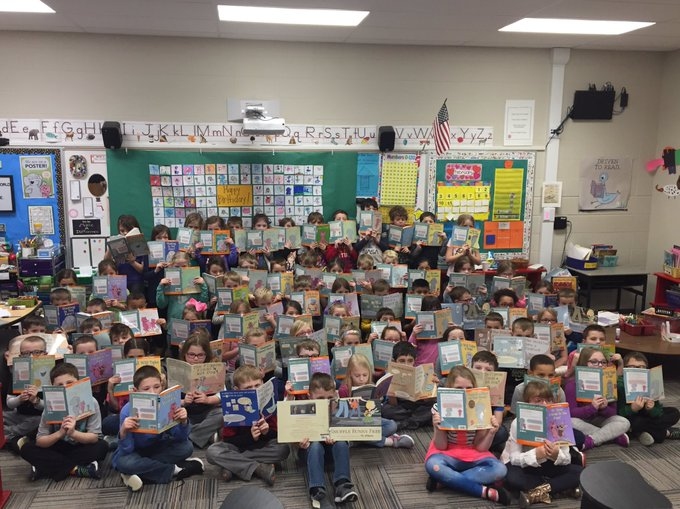 Happy birthday Mo Willems! From your Pigeon loving  first grade friends!