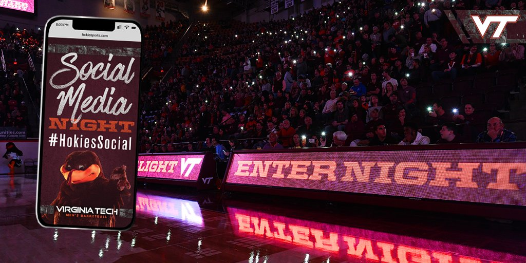 Virginia Tech Hokies NCAA Basketball: Social Media Night is back!  Check out all that will go down on Wednesday 📲  📝 »...