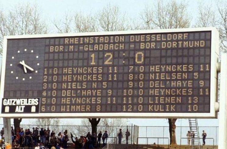 Боруссия 12 0