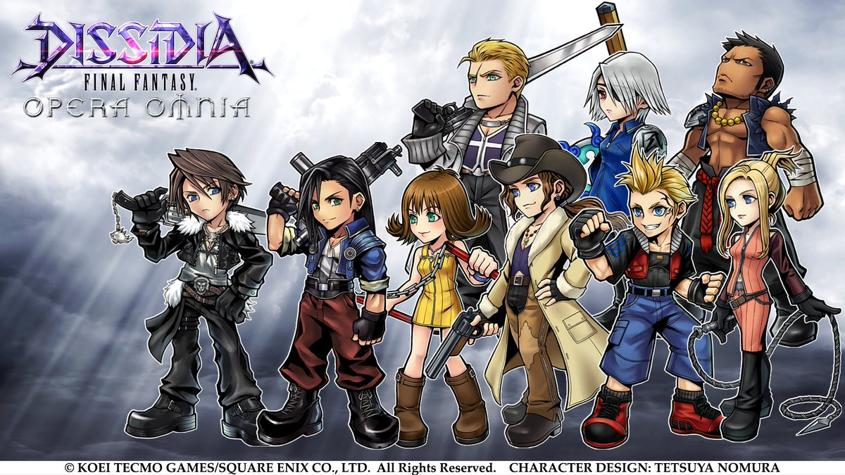 DISSIDIA FINAL FANTASY OPERA OMNIA's photo on Final Fantasy VIII