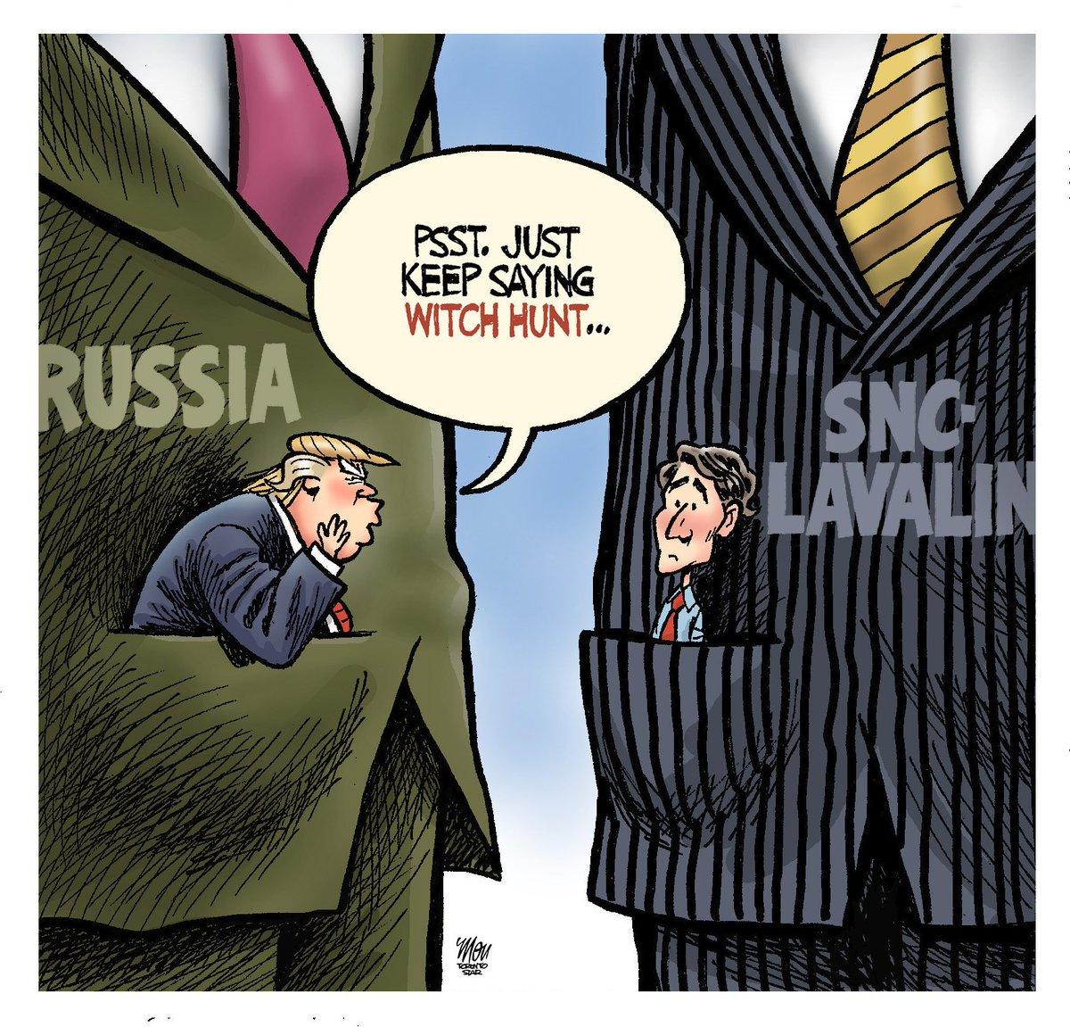 Here's Tuesday's #SNCLavalin cartoon in @TorontoStar #cdnpoli