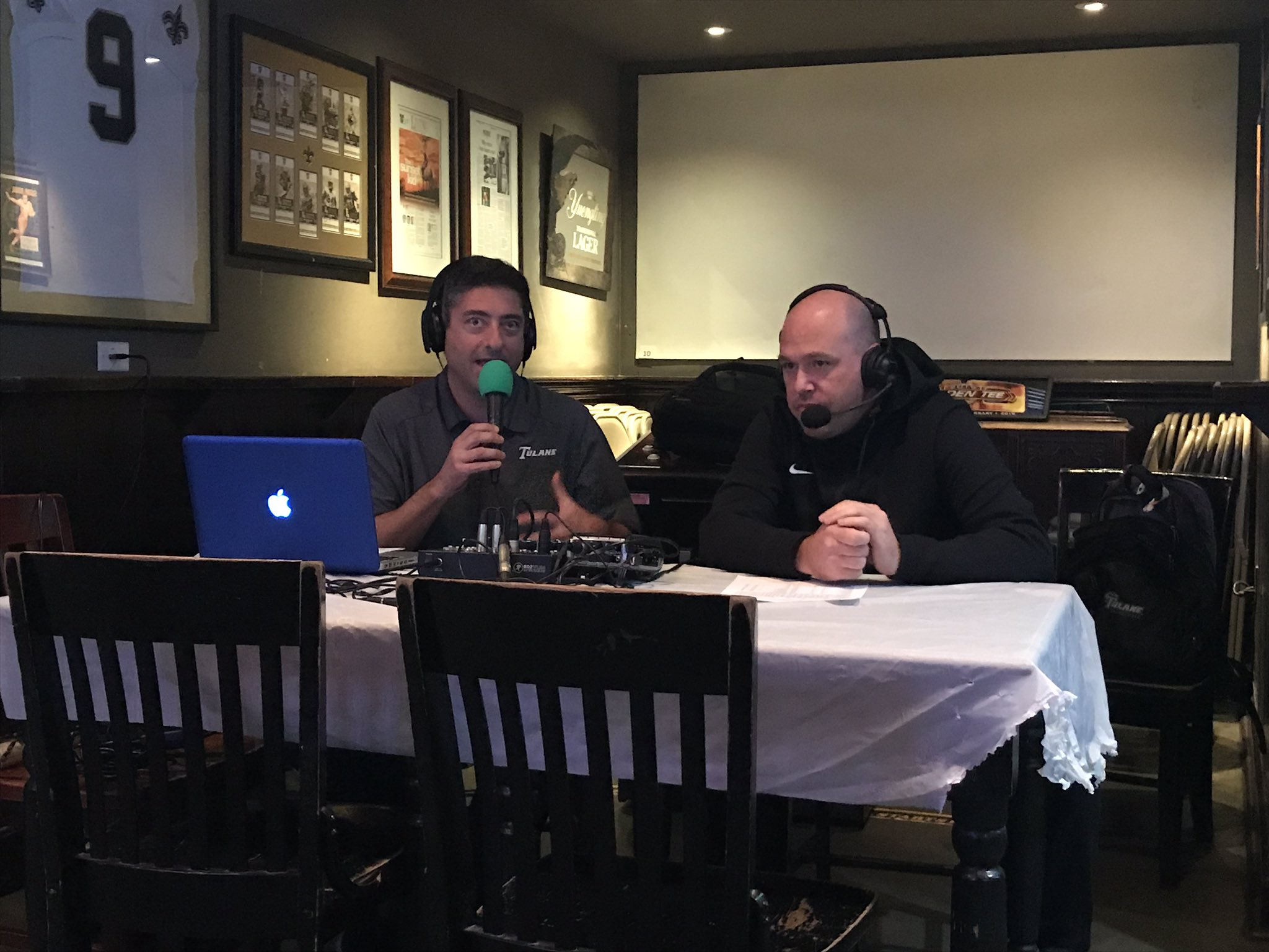 Tulane Green Wave NCAA Basketball: Thanks to assistant coach @Ramo_Out for joining the show tonight! ��.  Tweet by @Gr...