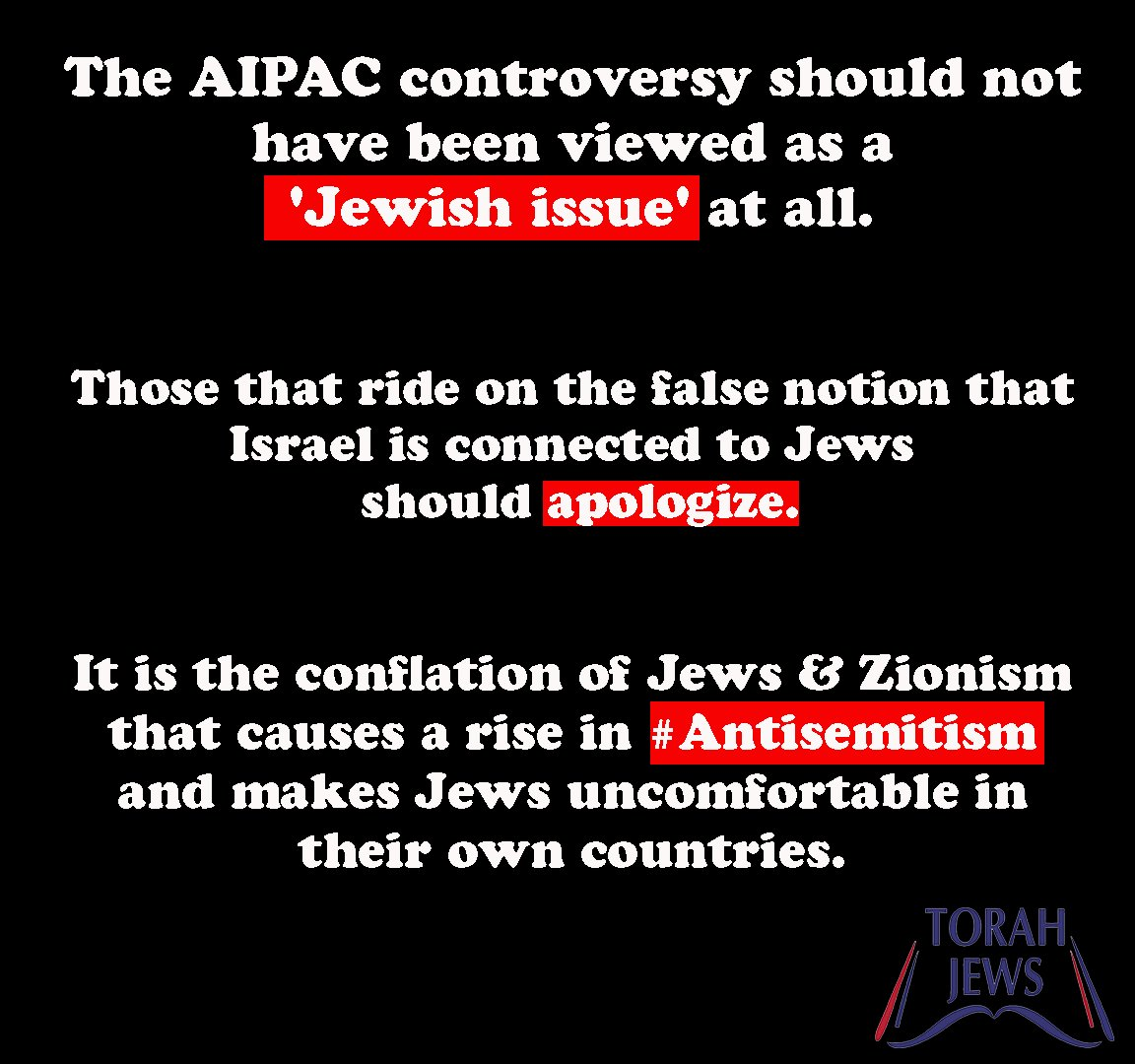 True Torah Jews's photo on aipac