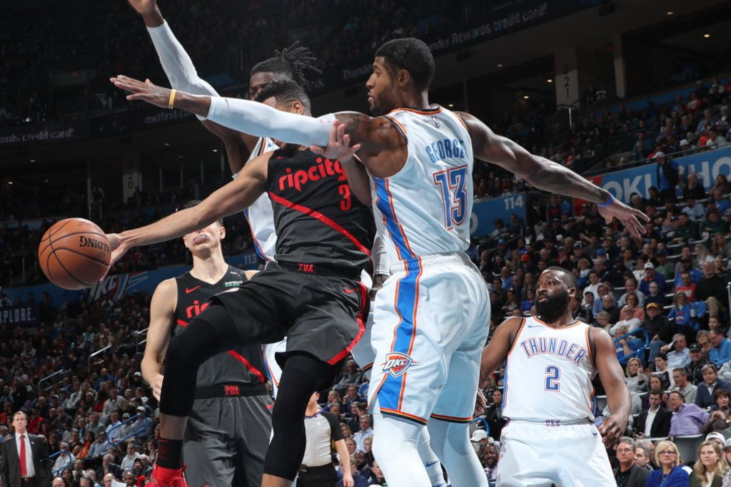 Best defense in the West holds Blazers to 33% shooting in 1st half