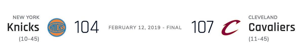 Aaaaand the Knicks lost (but really won) the Zion bowl https://t.co/8Svsj9LTCj