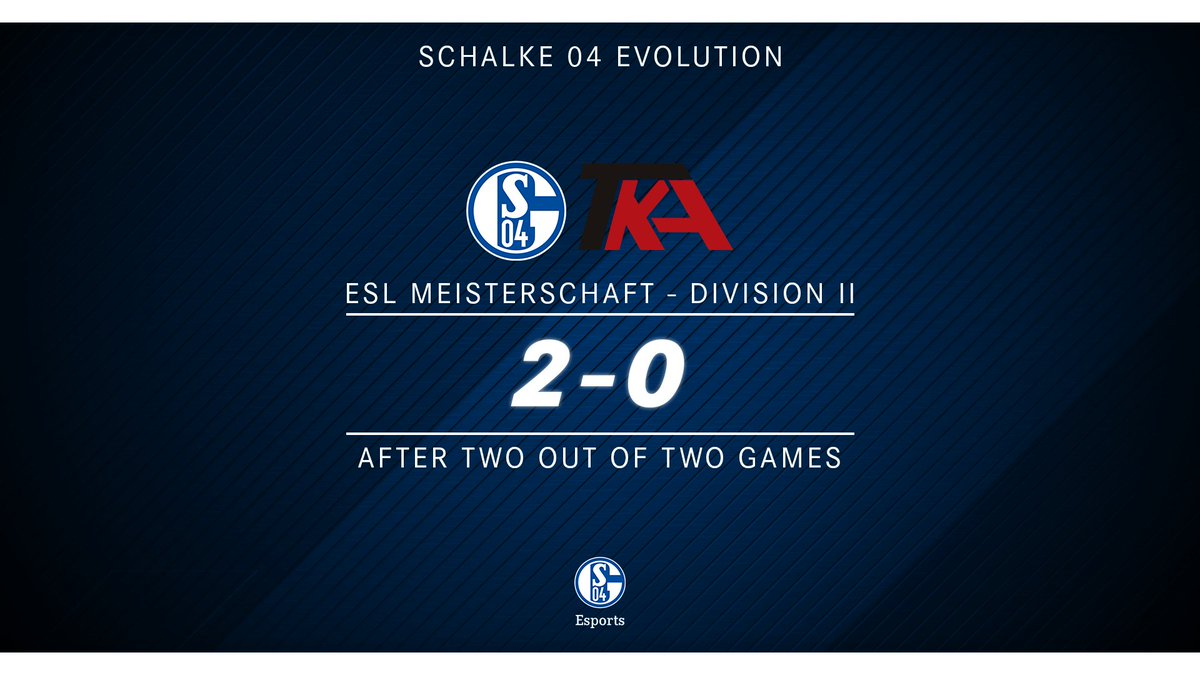 Schalke 04 Esports's photo on #ESLMeisterschaft