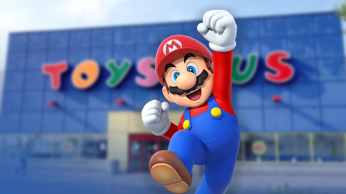 Nintendo Wire's photo on Toys R Us